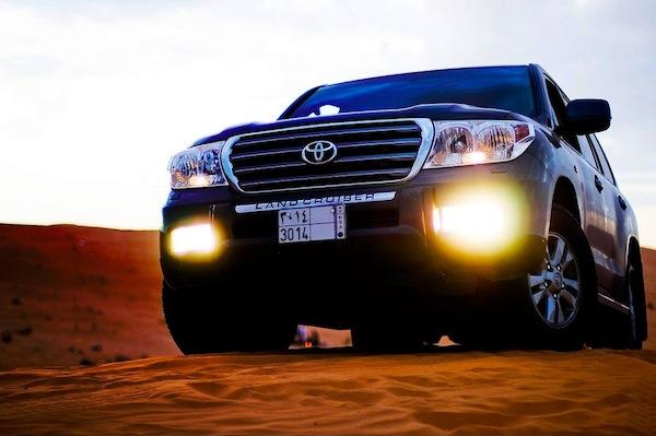 Toyota Land Cruiser Qatar 2012