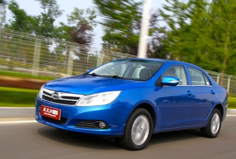 BYD F3 Surui. Picture courtesy of auto.ifeng.com