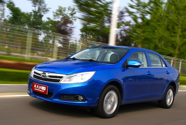 BYD F3 Surui China February 2013. Picture courtesy of auto.ifeng.com