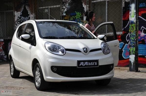 ChangAn Benben Mini World 2012. Picture courtesy of auto.sina.com.cn