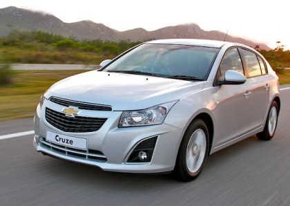 Chevrolet Cruze. Picture courtesy of www.autowp.ru