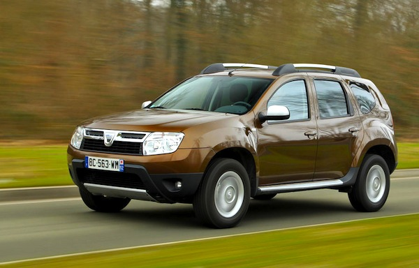 Dacia Duster France February 2013c. Picture courtesy of L'Argus