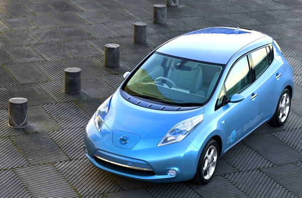 Nissan Leaf Norway February 2013