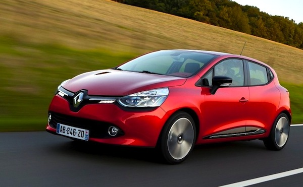 Renault Clio Slovenia March 2013
