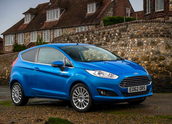 Ford Fiesta UK March 2013