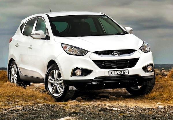 Hyundai ix35 Australia 2013. Picture courtesy of themotorreport.com.au