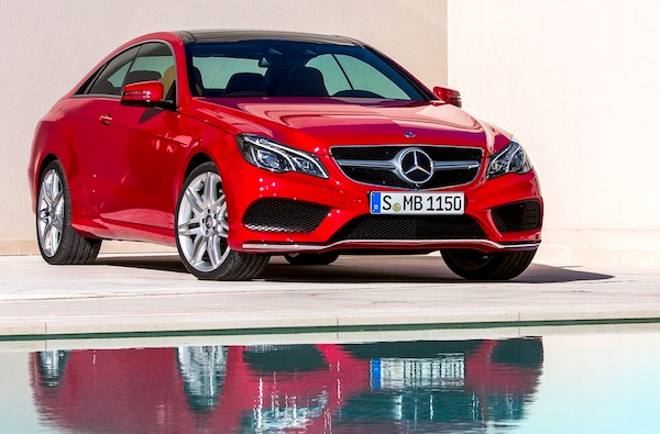 Mercedes E Class Germany March 2013