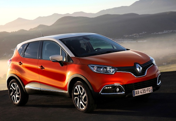 Renault Captur France March 2013