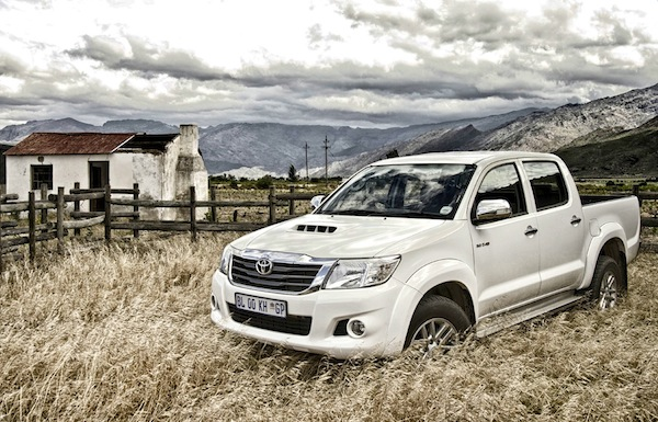 Toyota Hilux South Africa March 2013 Picture courtesy of topcar.co.za