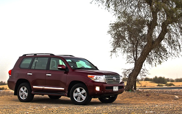 Toyota Land Cruiser Bahrain January 2013. Picture courtesy of Motoring Middle East