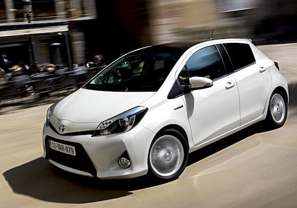 Toyota Yaris Poland March 2013
