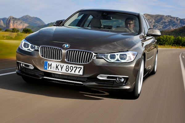 BMW 3 Series Austria April 2013