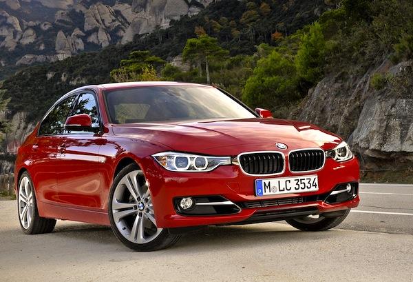 BMW 3 Series Europe 2013