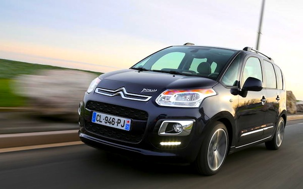 france 1 13 may 2013 citroen c3 picasso in top 10 best selling cars blog. Black Bedroom Furniture Sets. Home Design Ideas