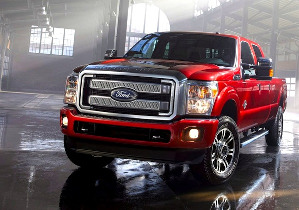 Ford F-Series Canada April 2013