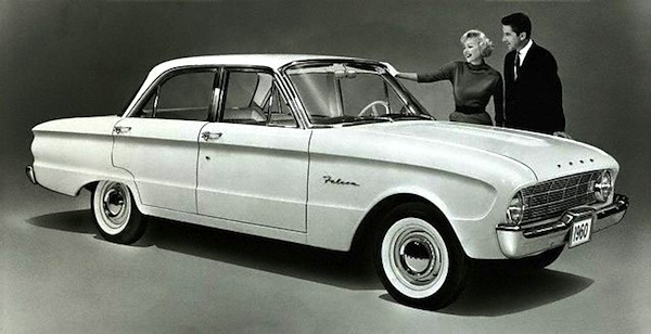 Ford Falcon 1960. Picture courtesy of poptartmagazine