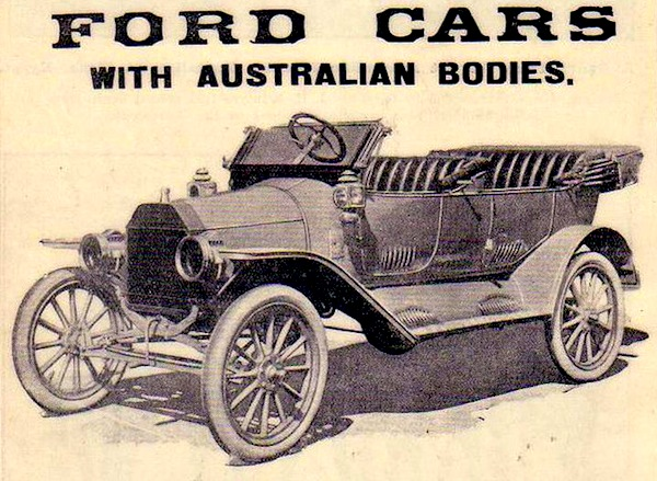 Ford Model T Australia. Picture through Flickr
