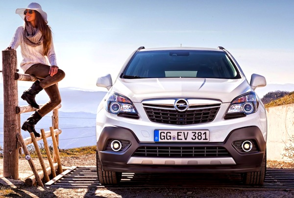 Opel Mokka Italy May 2014