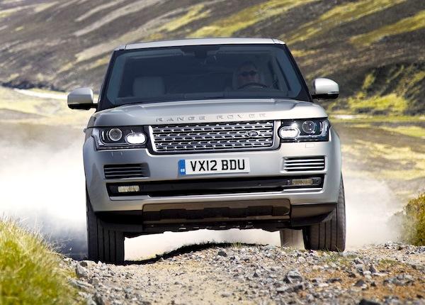 Range Rover UK March 2013
