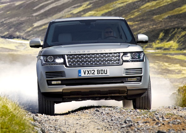 Range Rover UK March 2013