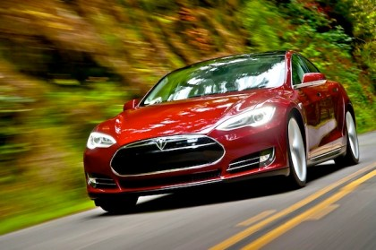 Tesla Model S. Picture courtesy of Netcarshow