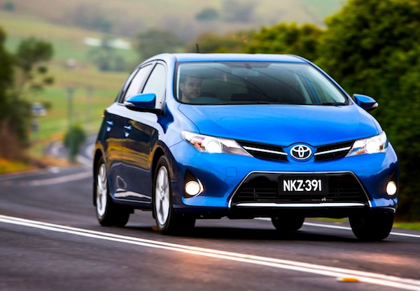 Toyota Corolla New Zealand 2013
