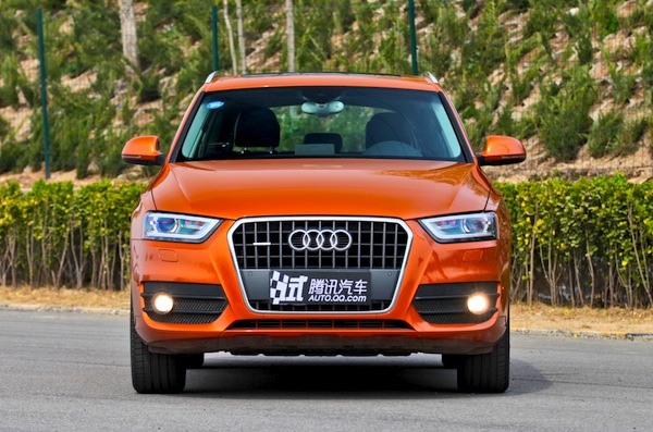 Audi Q3 World April 2013. Picture courtesy of auto.qq.com