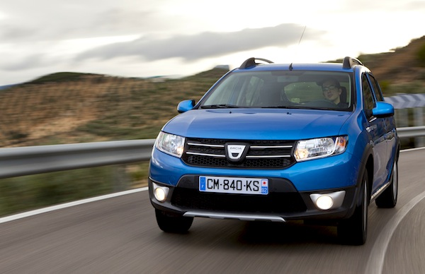 Dacia Sandero Spain 2014