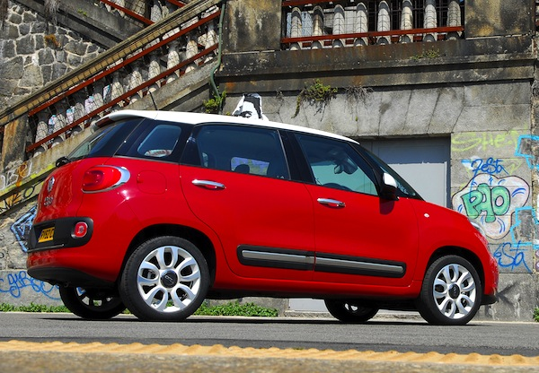 Fiat 500L World July 2013