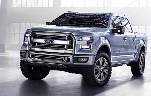 Ford Atlas concept USA June 2013