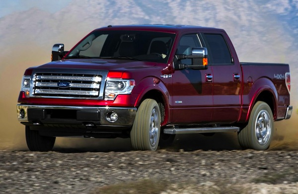 Ford F-Series USA May 2013. Picture courtesy of Motor Trend