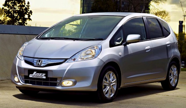 Honda Jazz. Picture courtesy of The Motor Report