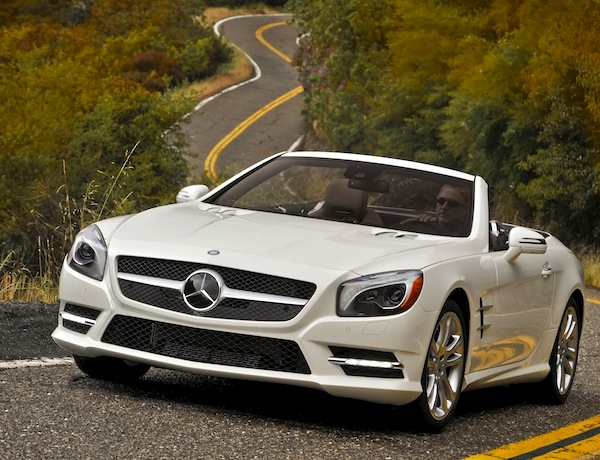 Mercedes SL Class USA May 2013