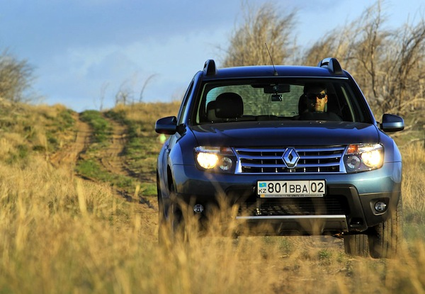Renault Duster World April 2013. Picture courtesy of Ilva Davidovich idphoto.kz