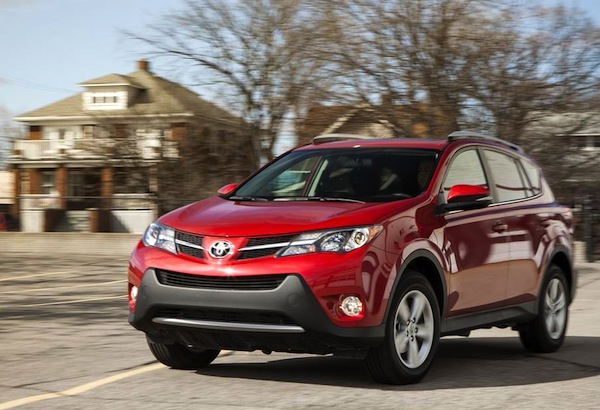 Toyota RAV4 World March 2013. Picture courtesy of caranddriver.com