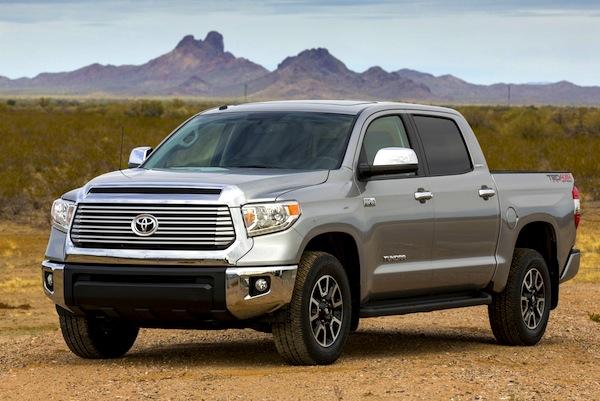 Toyota Tundra USA June 2013