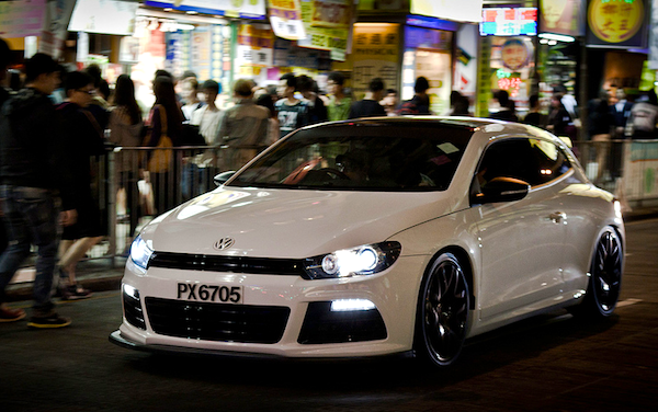 VW Scirocco Hong Kong May 2013