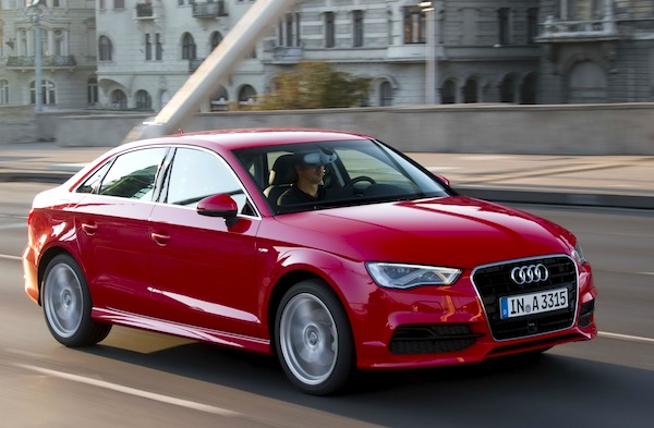 Audi A3 Sedan World June 2013