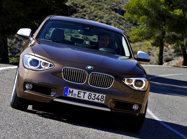 BMW 1 Series Europe March 2014