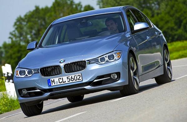 BMW 3 Series Germany June 2013. Picture courtesy of autobild.de