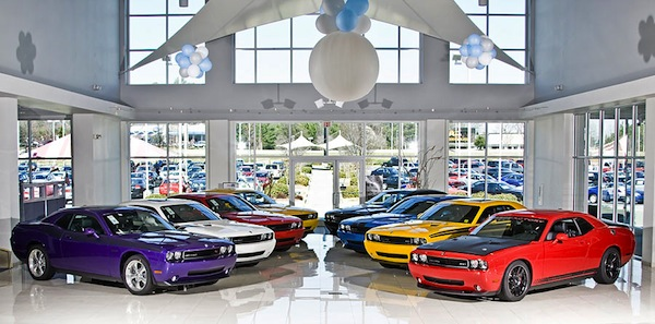 Car dealership. Picture courtesy of speedfactorycars.com