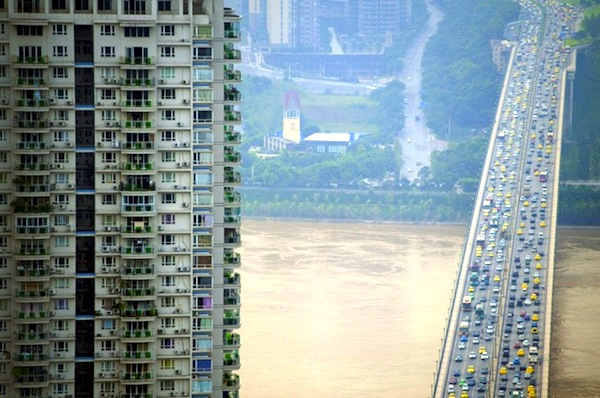 Chongqing China. Picture courtesy of OLLI GEIBEL : AFP : Getty Images