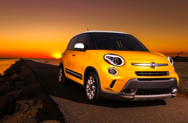 Fiat 500L USA June 2013. Picture courtesy of Motor Trend