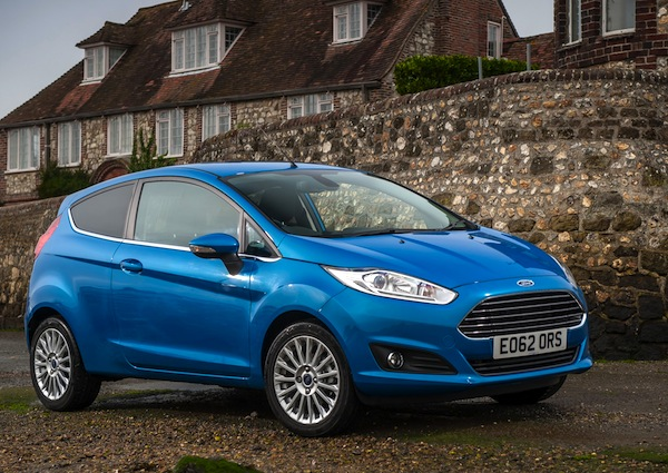 Ford Fiesta Europe June 2013