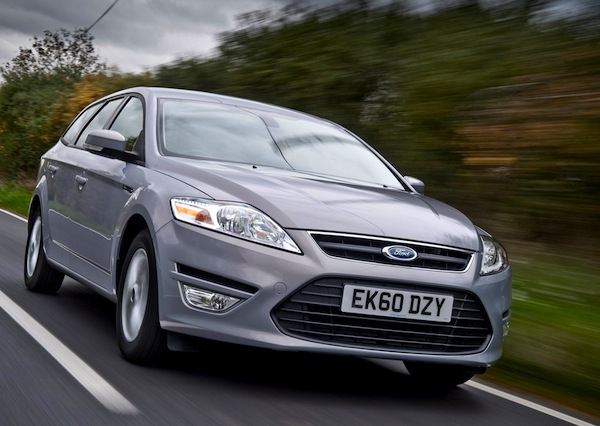 Ford Mondeo Wales June 2013