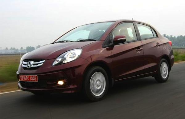 Honda Amaze India June 2013. Picture courtesy of ibnlive.in.com