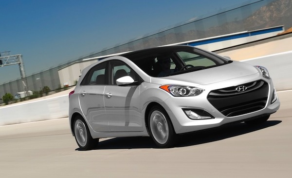 Hyundai Elantra GT World July 2013. Picture courtesy of www.motortrend.com