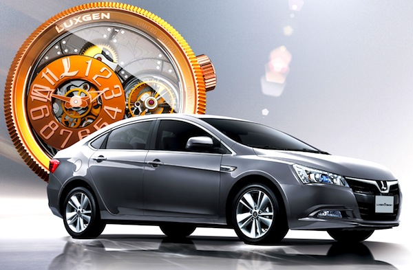 Luxgen5 Sedan China June 2013