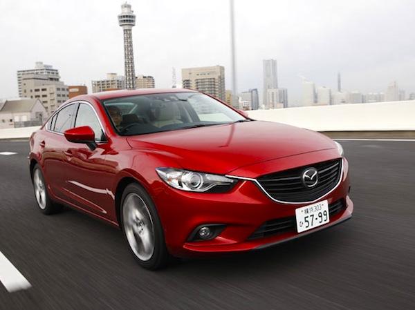 Mazda Atenza Japan June 2013