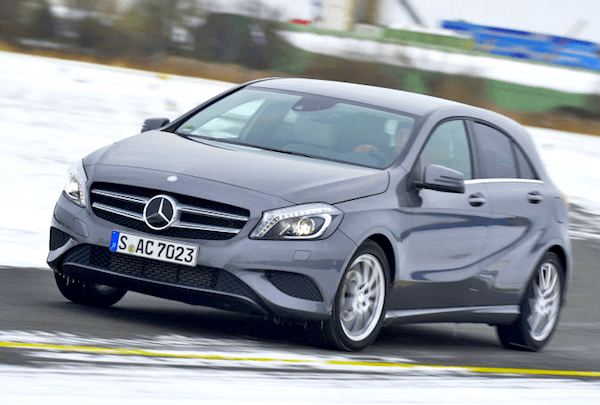 Mercedes A-Class Germany June 2013. Picture courtesy of Auto Bild